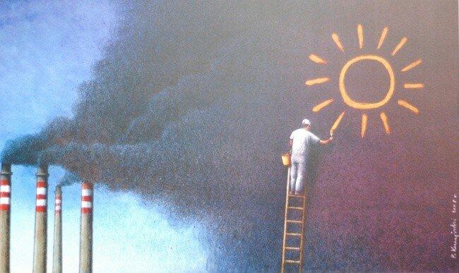 Павел Кучинский: Наш сумасшедший мир на иллюстрациях