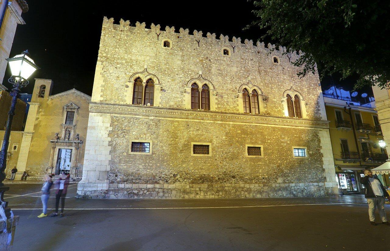 Taormina. Corvaja Palace (Palazzo Corvaja)