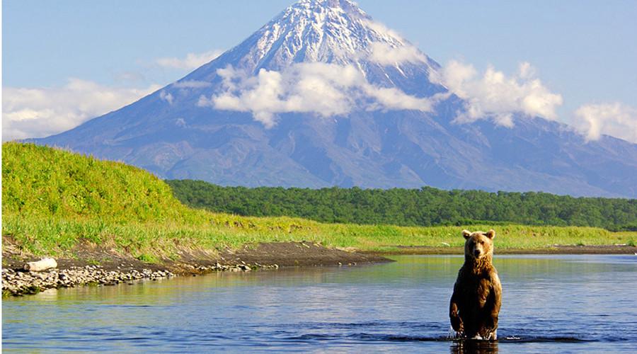 4. Камчатка, Россия Этот полуостров, расположенный на востоке России, считается одним из самых богат
