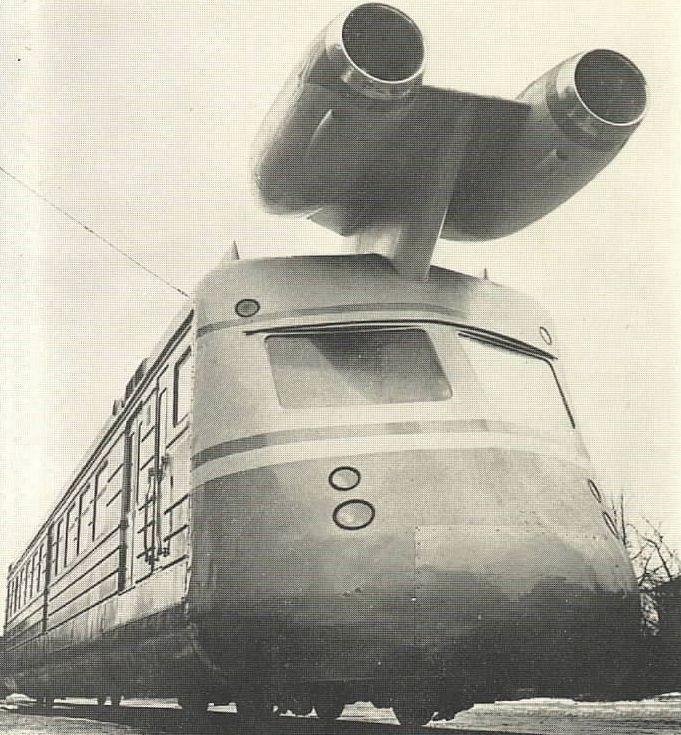 Однако всё закончилось лишь испытаниями, после чего турбопоезд был брошен на задворках Калининского