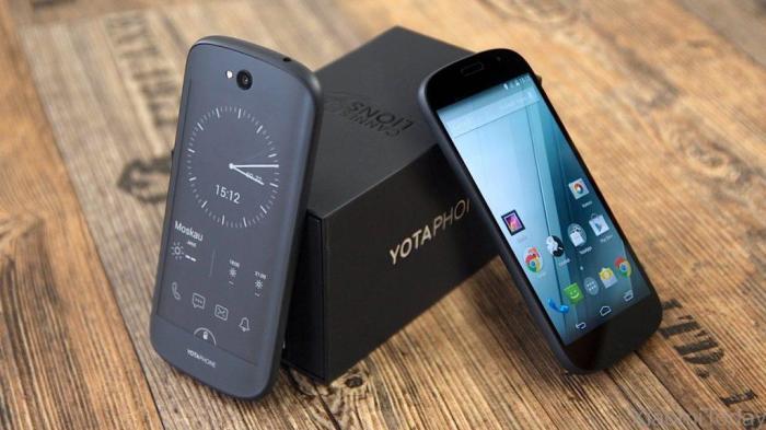 Yotaphone 2 – смартфон с двойным экраном. Смартфон Yotaphone 2 отличился тем, что предоставил