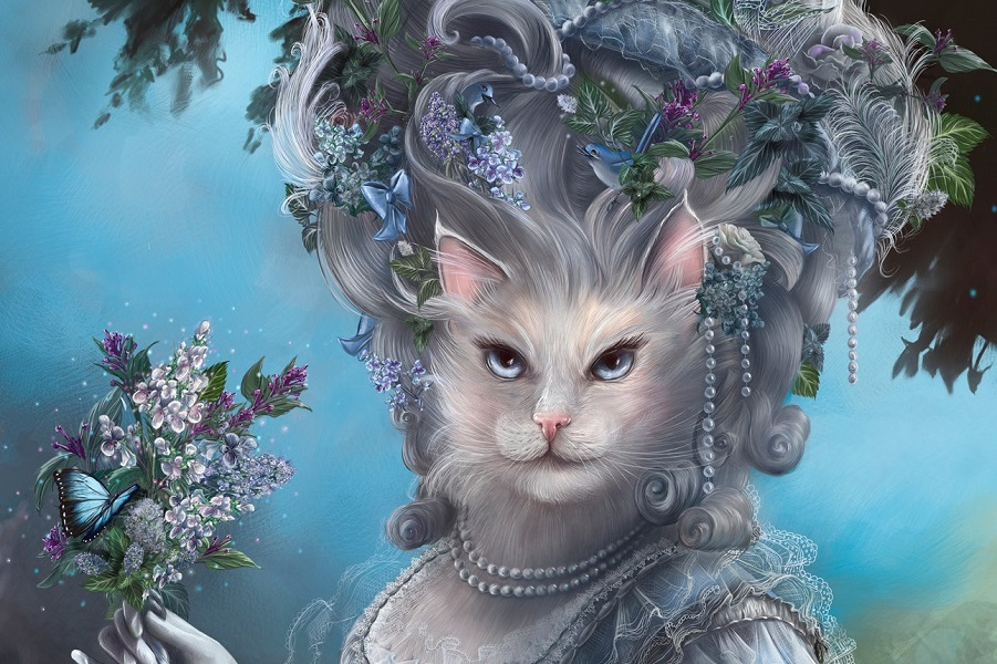 вторая, королева кошка картинки чесно гря