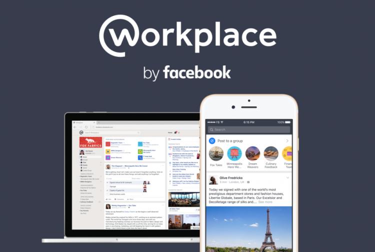 Социальная сеть Facebook запускает бесплатный мессенджер Workplace