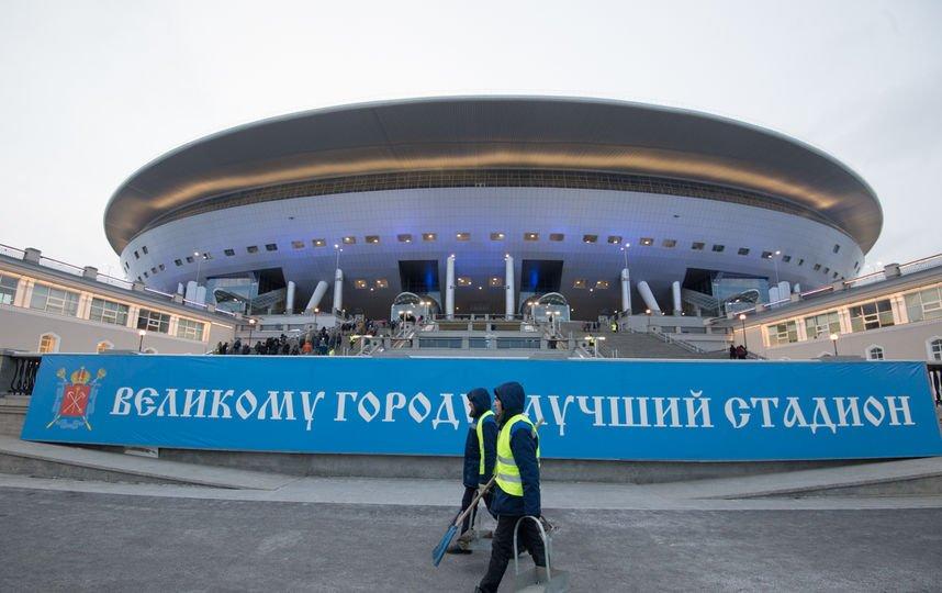 Поле нановом стадионе «Санкт-Петербург» еще ненабрало мощи— Албин