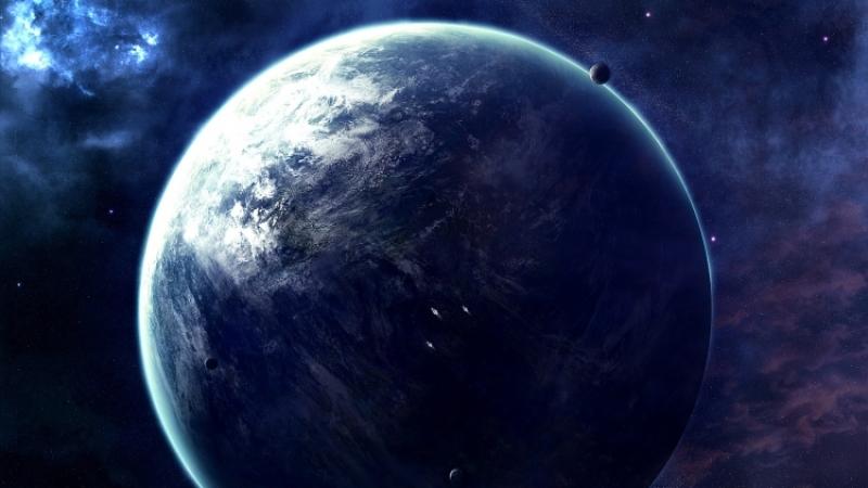 NASA зафиксировали наповерхности Земли желто-голубые вспышки