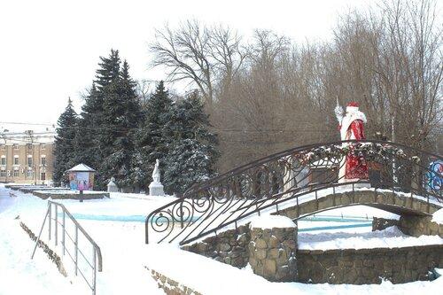 Дед Мороз в парке ВГС