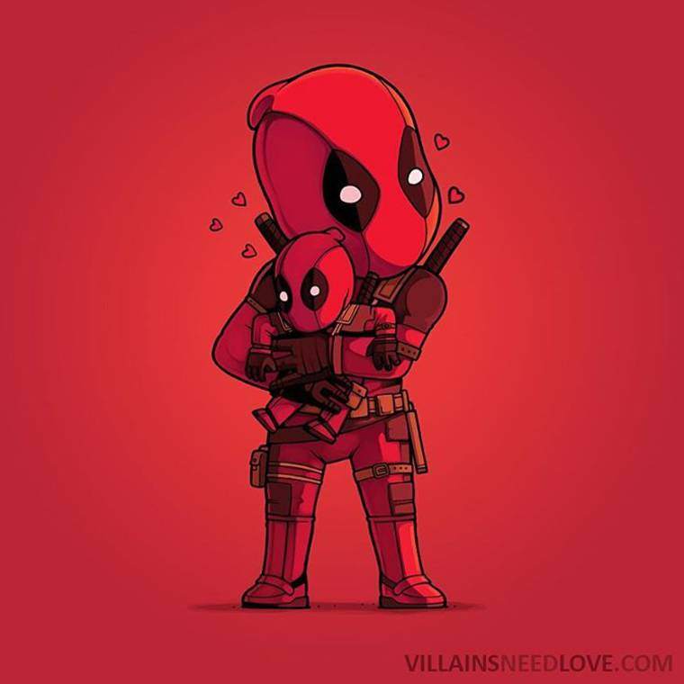 Villains Need Love - When the enemies of pop culture are cuddling