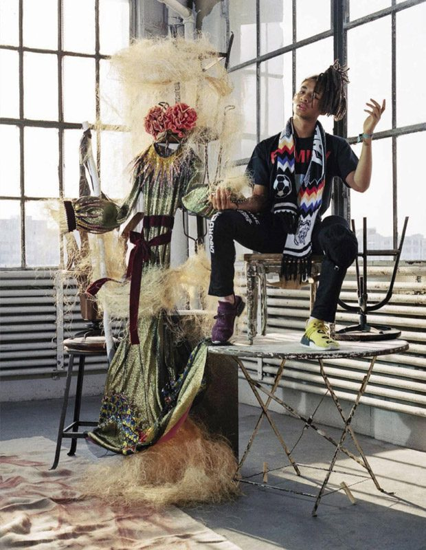 A Brave New World: Estella Boersma & Jaden Smith for Vogue Italia
