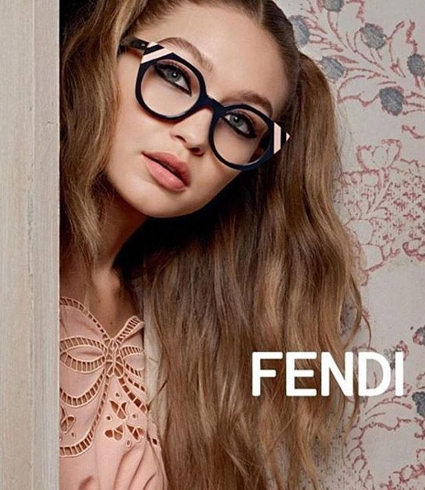 1ST LOOK: Bella & Gigi Hadid for Fendi Spring Summer 2017 Campaign
