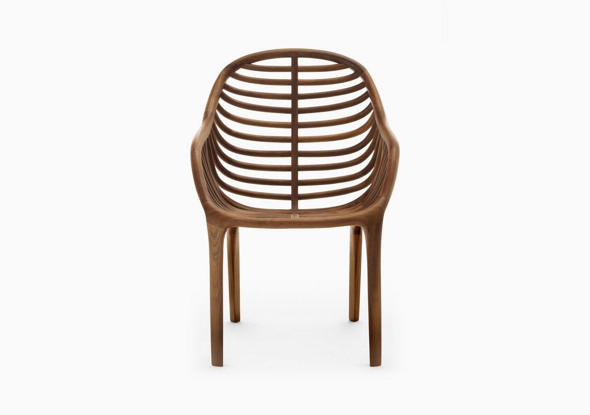 Деревянный дизайнерский стул