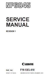 Инструкции (Service Manual, UM, PC) фирмы Canon - Страница 3 0_1b1405_67be358f_orig