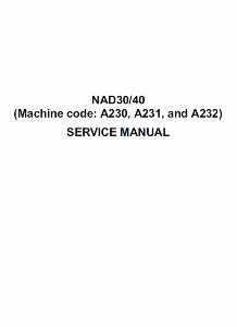 service - Инструкции (Service Manual, UM, PC) фирмы Ricoh - Страница 2 0_1b1d28_1eb10d62_orig