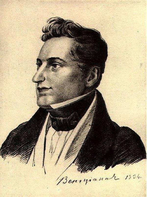 Гоголь Венецианов, 1834