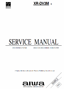 service - Сервисные инструкции (Service Manuals) DVD-проигрыватели AIWA 0_18f3cd_e4ebe5ac_orig