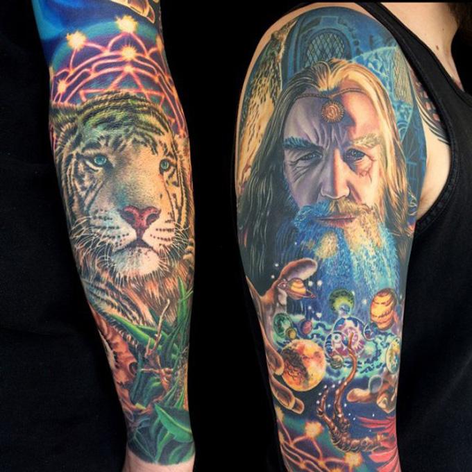 Tatuagens cosmicas