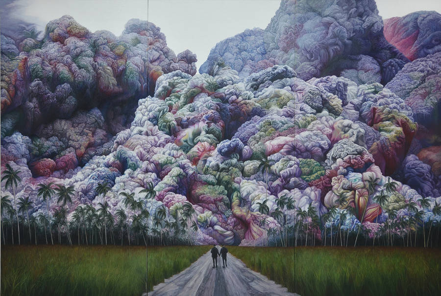 Psychedelic Paintings by Shang Chengxiang