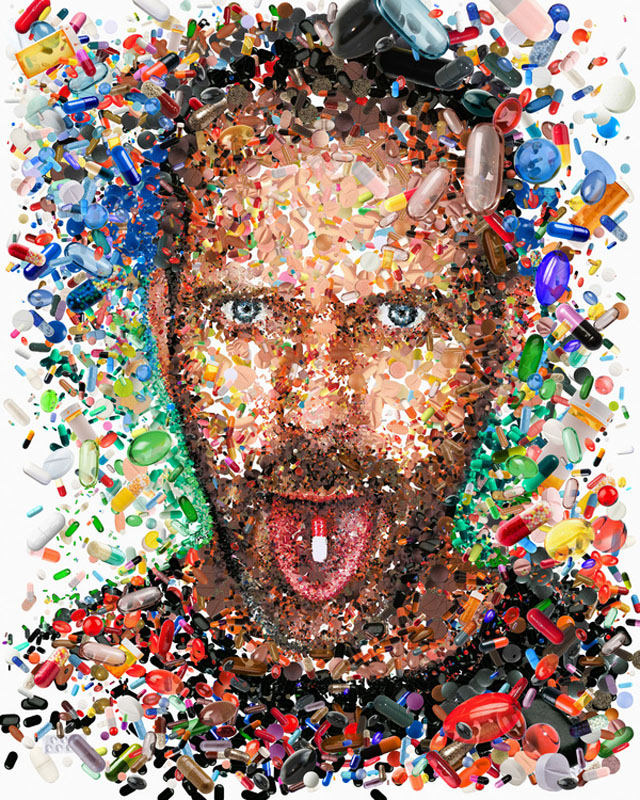 Mosaic Illustrations by Charis Tsevis