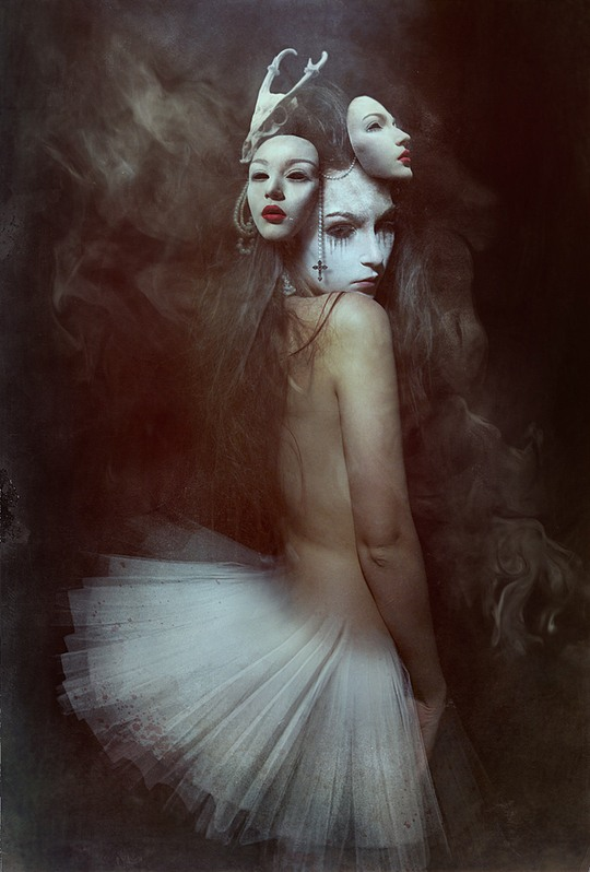 Creepy Photo Manipulations by Diana Dihaze