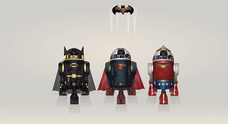 Quand Star Wars rencontre les Super-heros