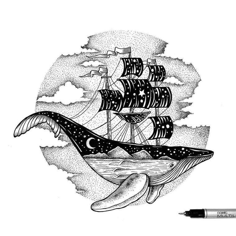 Double Exposure - Les delicates illustrations de Thiago Bianchini