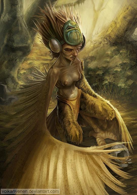 Amazing Concept Art by Volkan Yenen