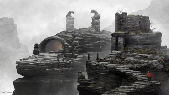 Inspiring Concept Art by Christopher Balaskas