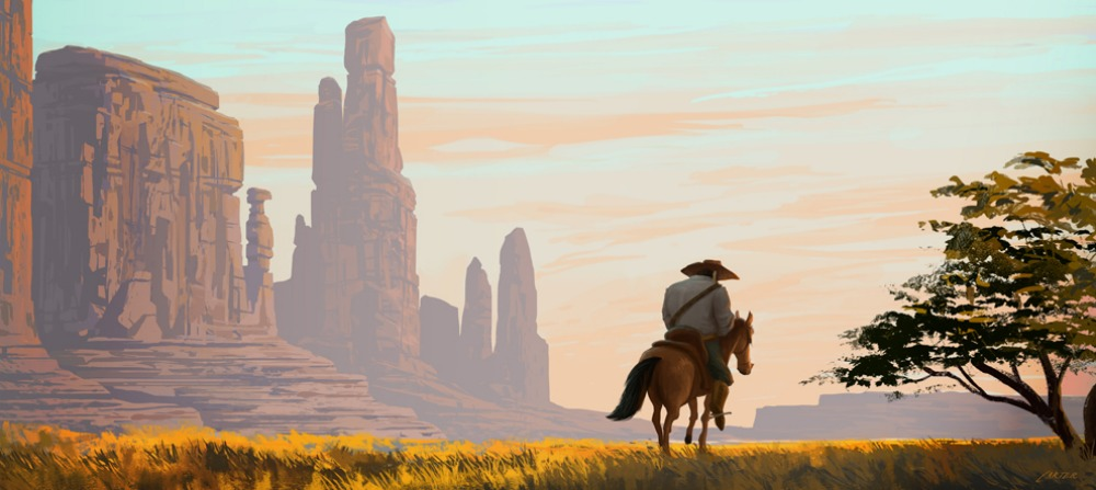 Western Concept Art & Illustrations I