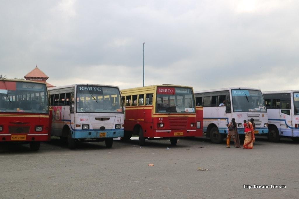 Индийские local bus'ы