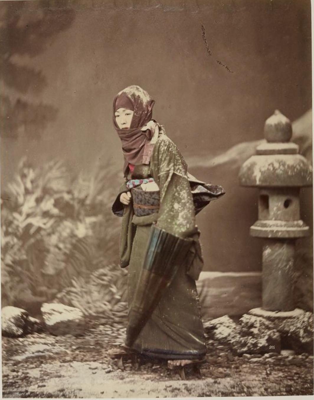 Женщина в зимней одежде