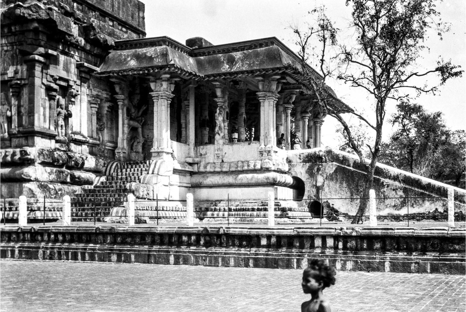 464. Танджавур. Вход в храм Брахадисвара