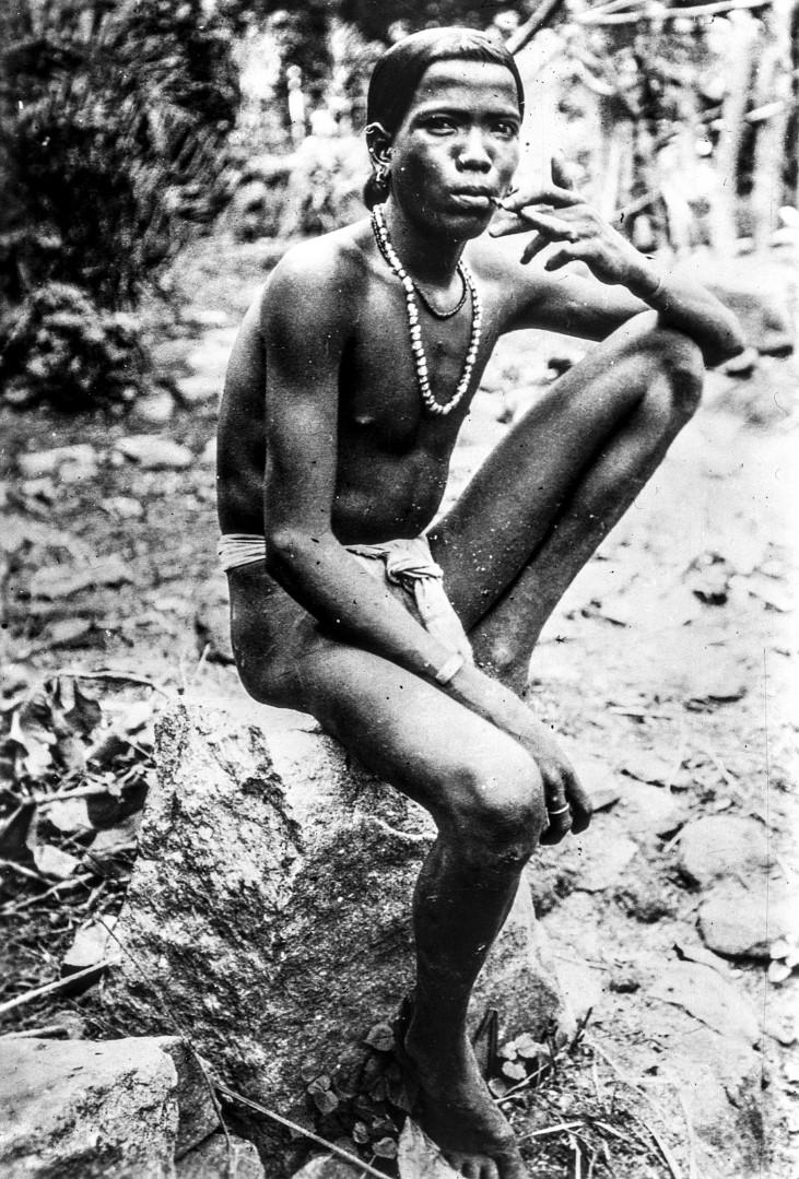 641. Орисса. Мужчина народности соро