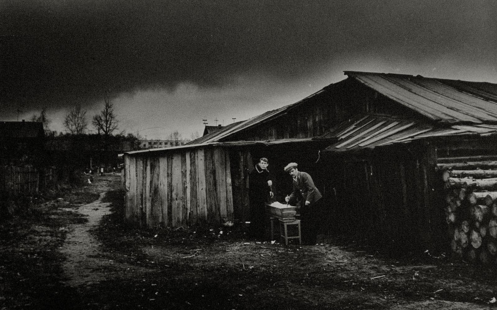 1983. Зеленодольск. Осень