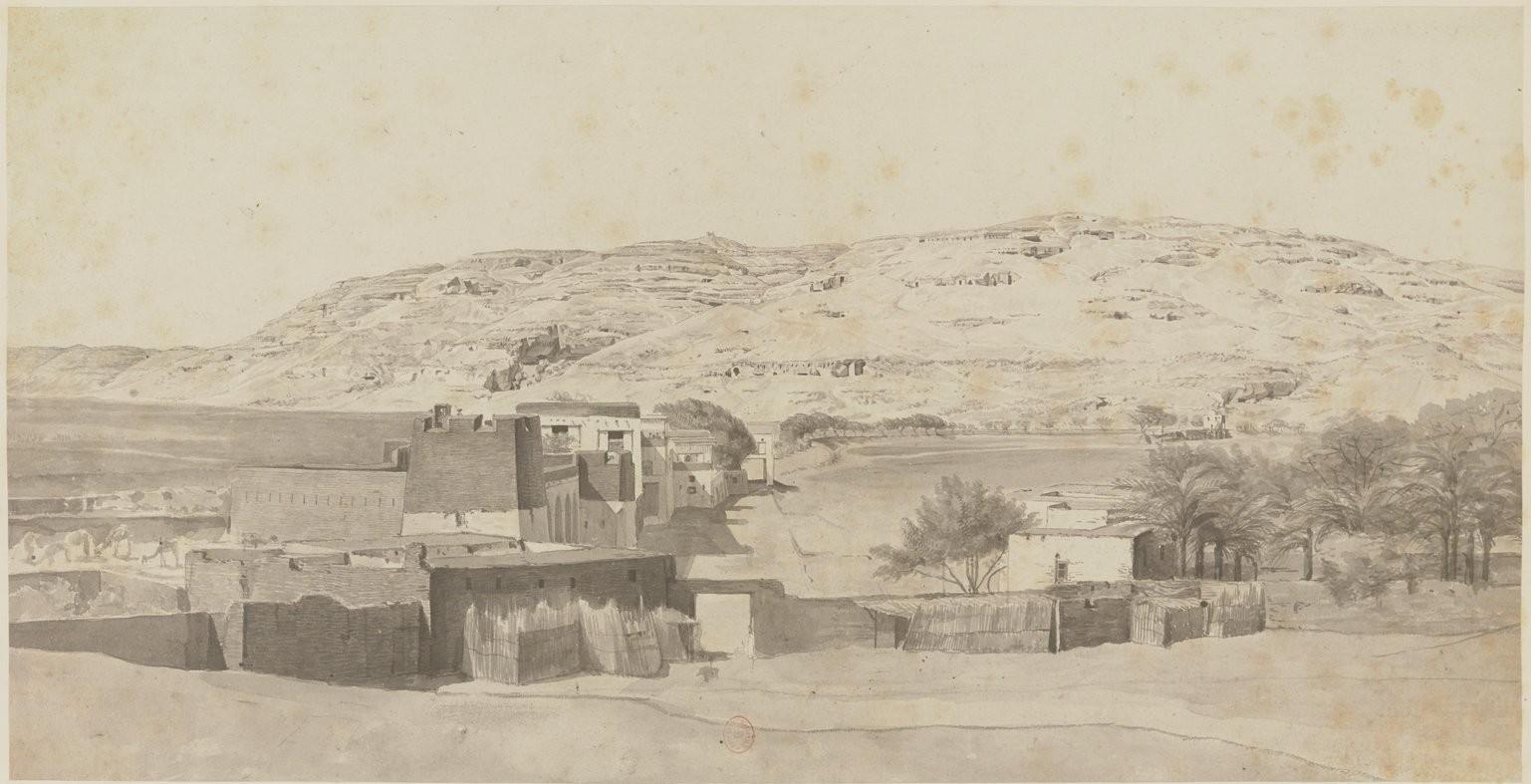 Асьют. Гробницы местных правителей I переходного периода