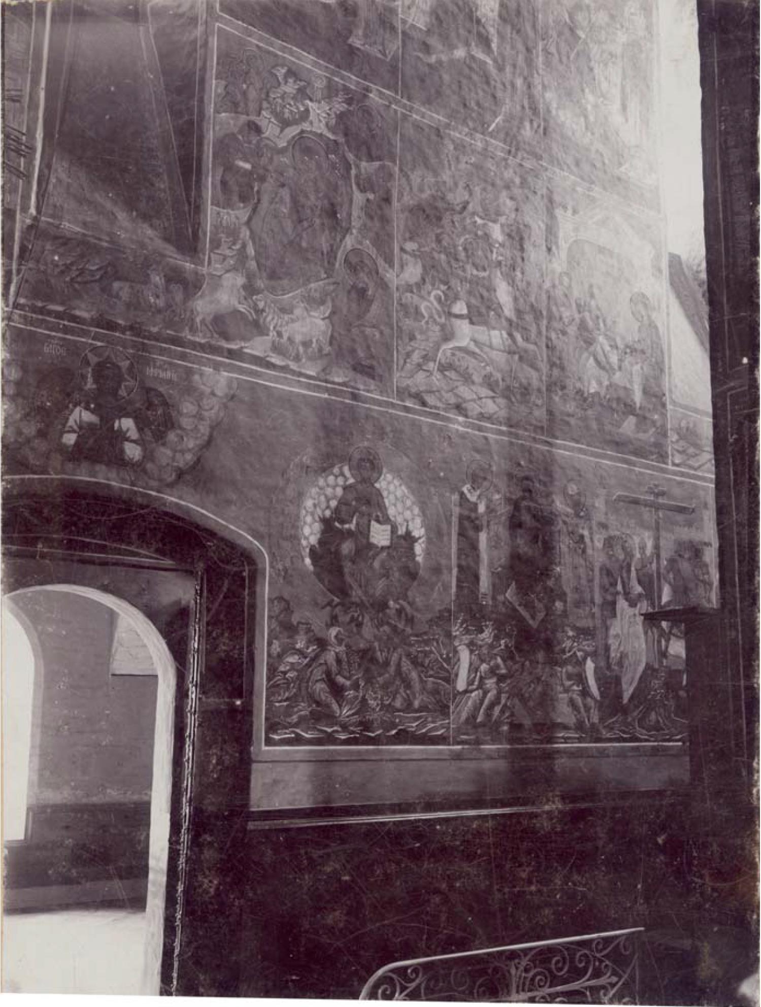 Княгинин монастырь. Роспись южной стены в Успенском соборе. Мелехов Я.Я. 1890-е