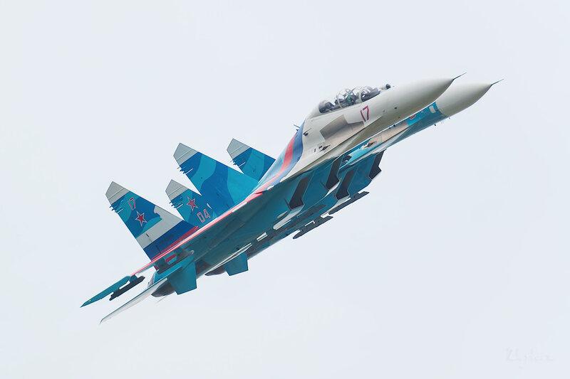 Сухой Су-27УБ (RF-92202 / 17 красный) D802207