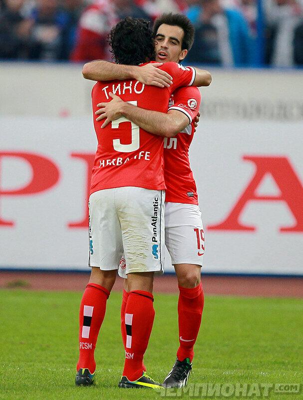 "Тино Коста и Хосе Хурадо. ""Волга"" - ""Спартак"" 0:1"