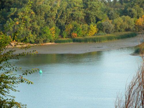 Осенний берег Дона...