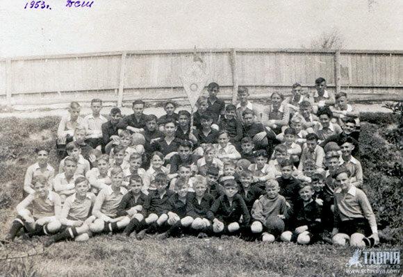 ДСШ Таврия, 1953 год