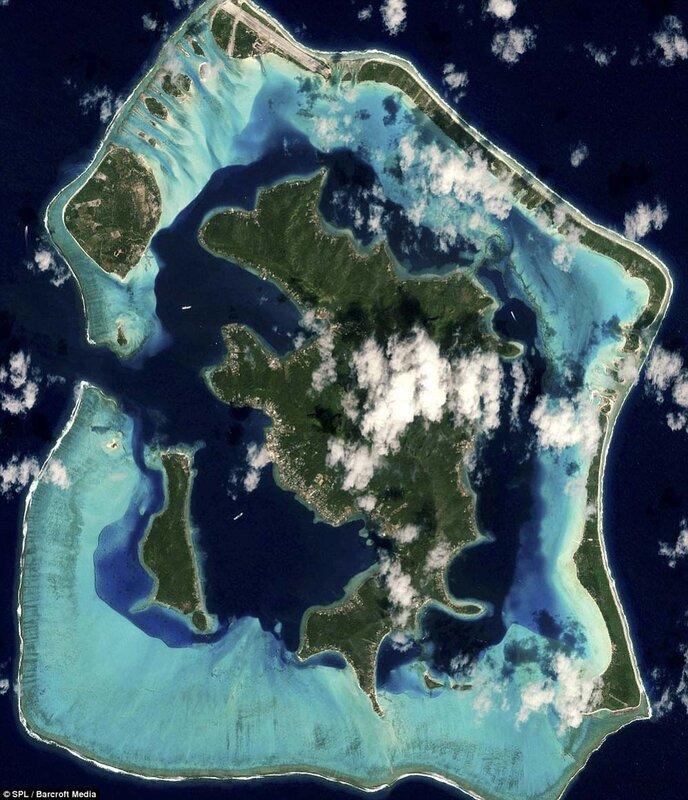 Поразительные фотографии островов Земли из космоса
