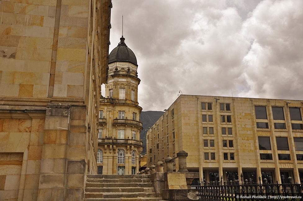 0 19199c 8435b8b9 orig День 209 211. Парламент Колумбии в Боготе, Национальный музей и Президентский Дворец