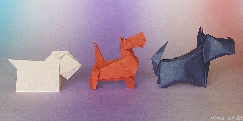 Оригами бумага скотч