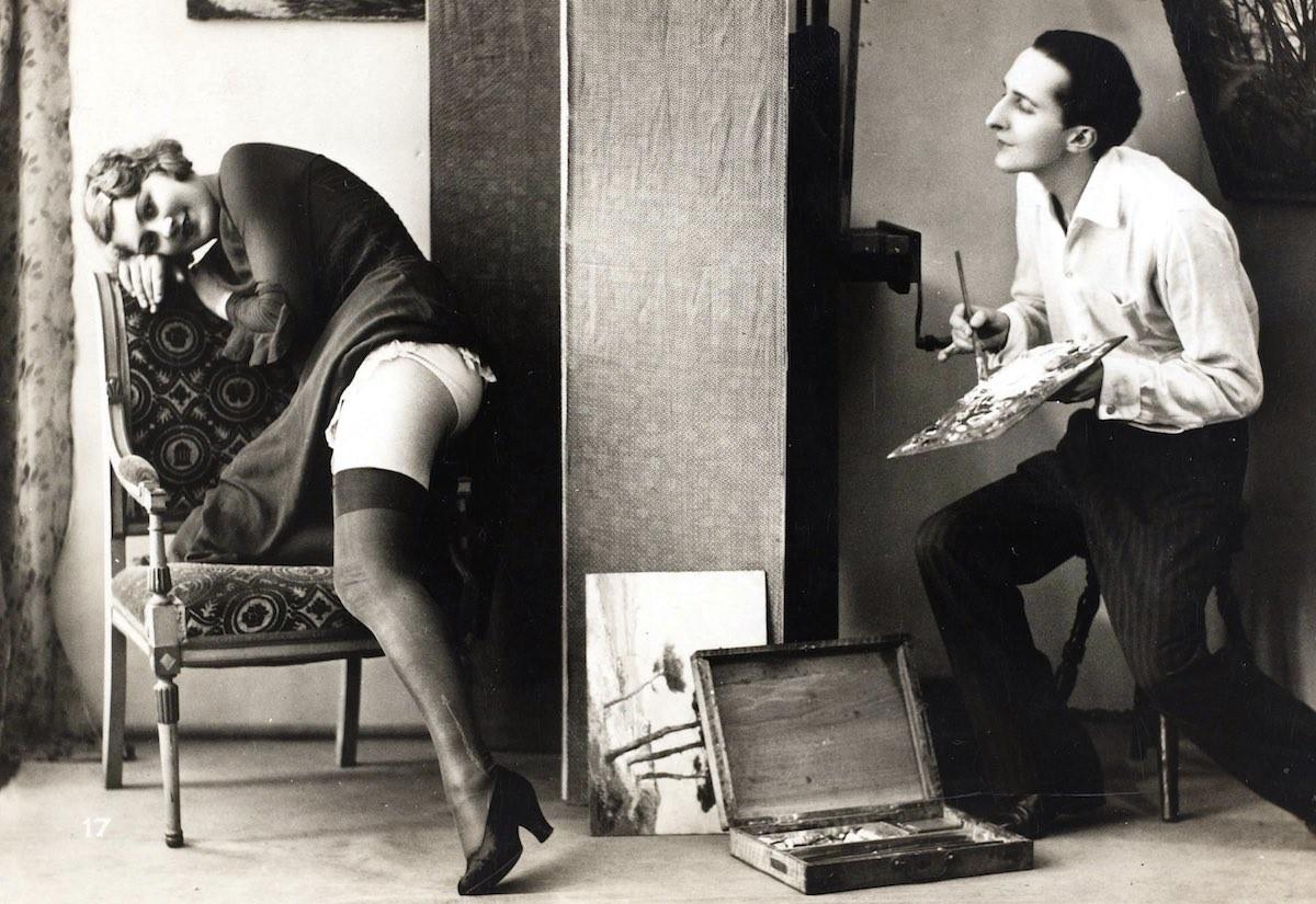 Эротика 19 го века как это делали тогда 22 фотография