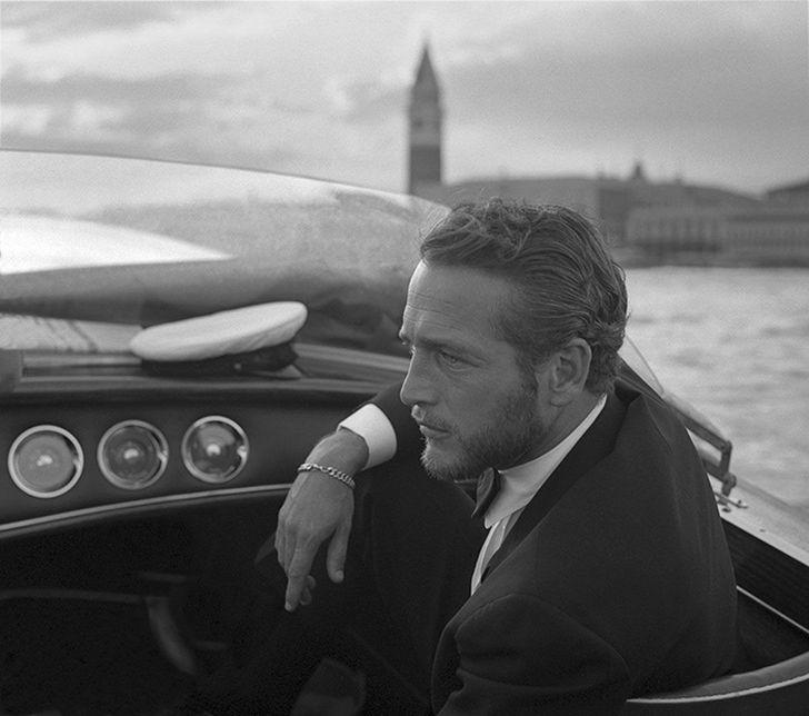 4. Американский актер Пол Ньюман в Венеции (1963)