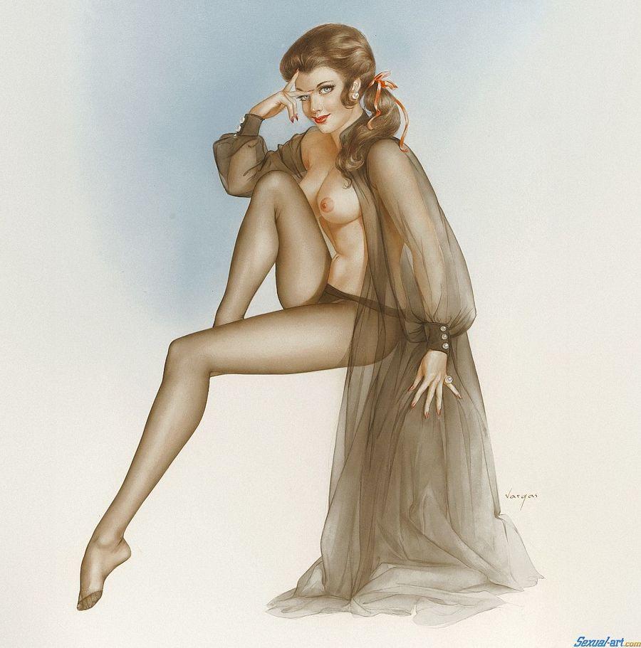 Erotic art calendar, super hot naked women ass