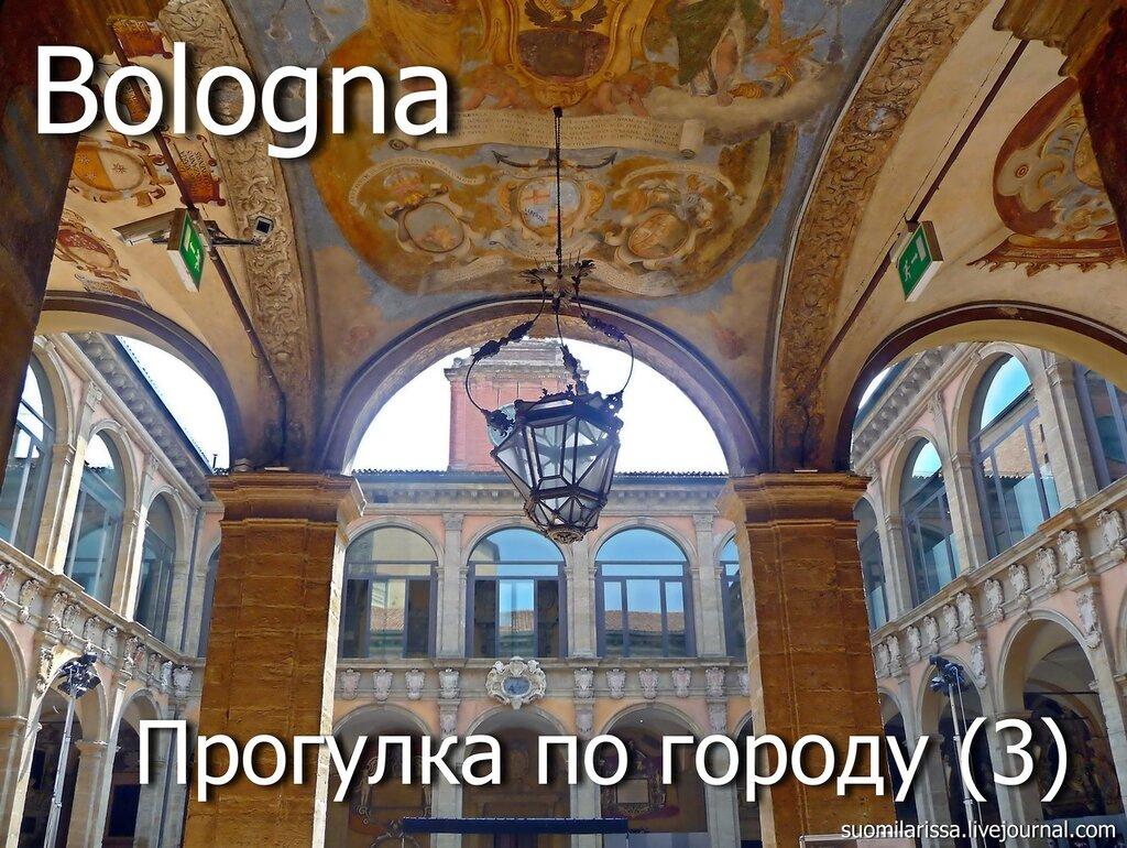 Bologna- Palazzo Comunale.