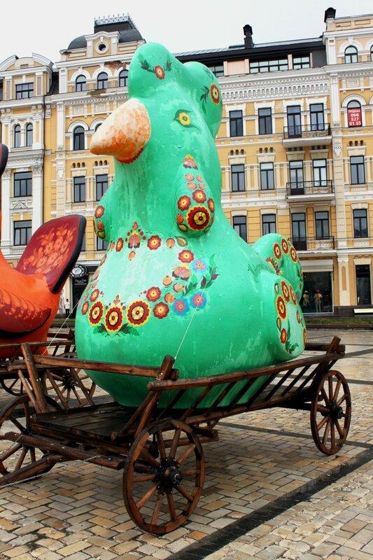 Чудо-птица Новомосковска