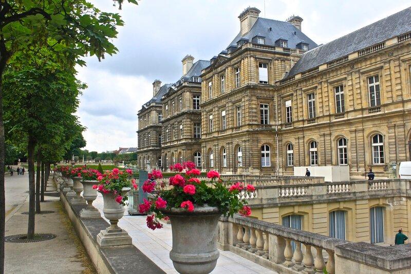 Люксембургский дворец.