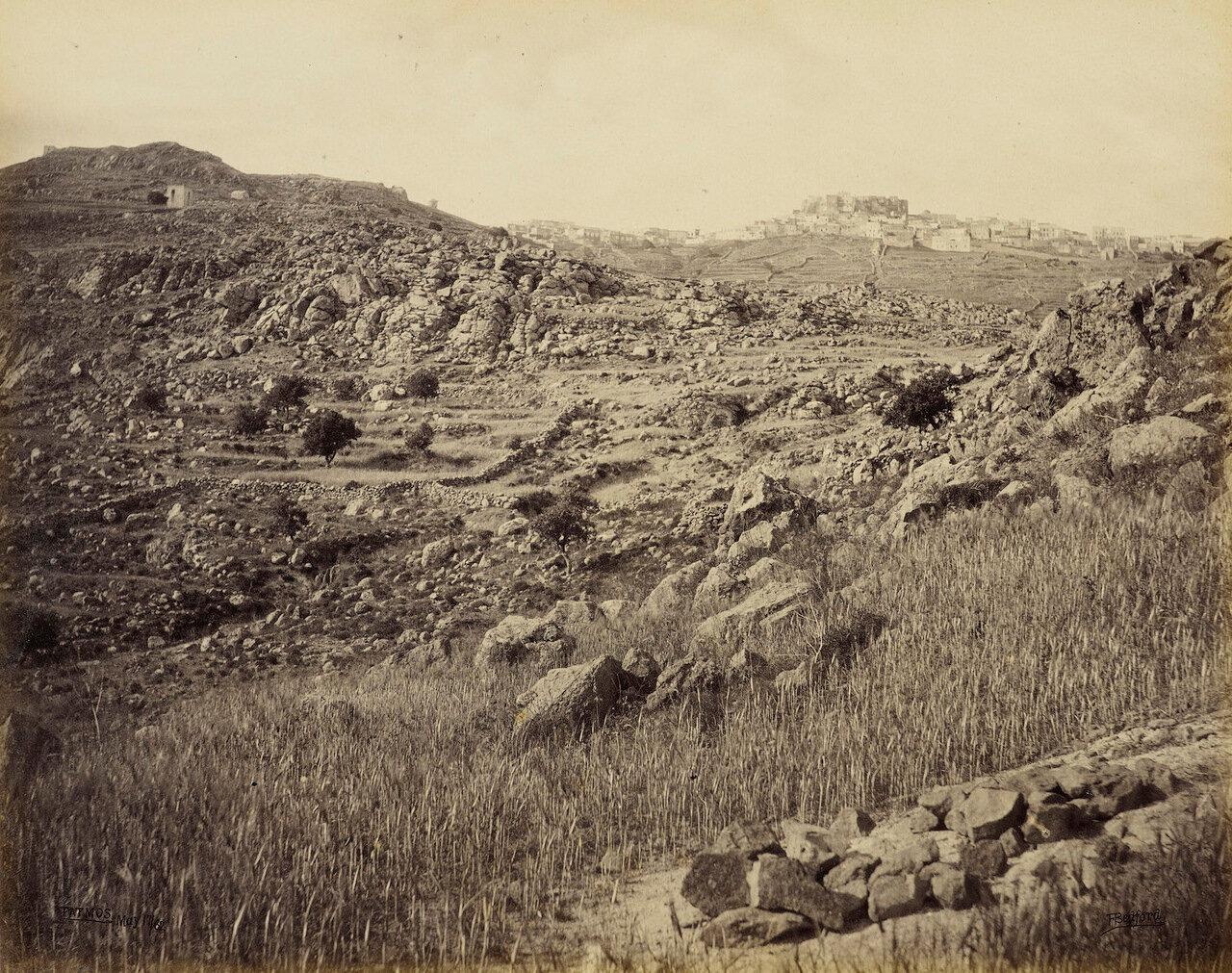 17 мая 1862. Патмос. Цитадель (возможно монастырь Св. Иоанна)