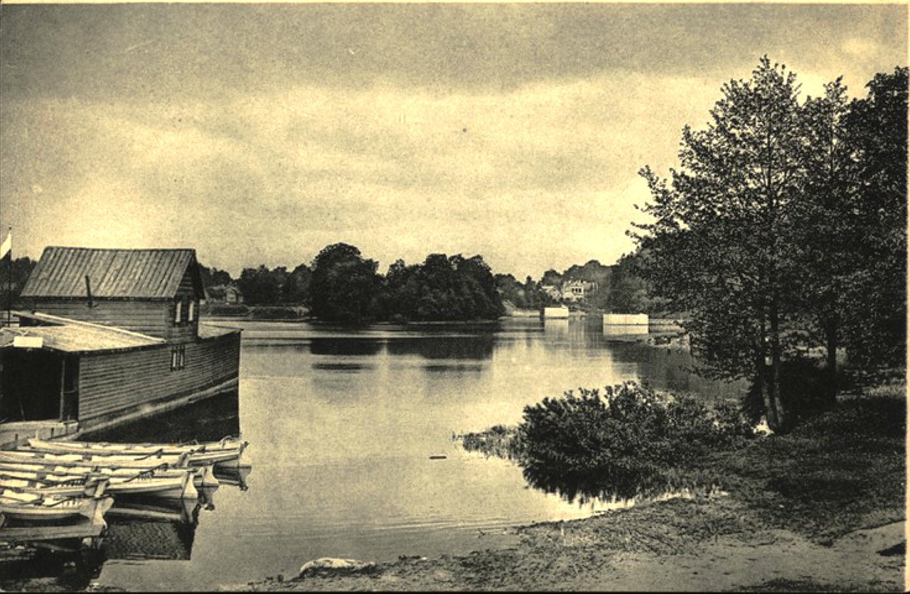 Станция Парголово. Старожиловское озеро