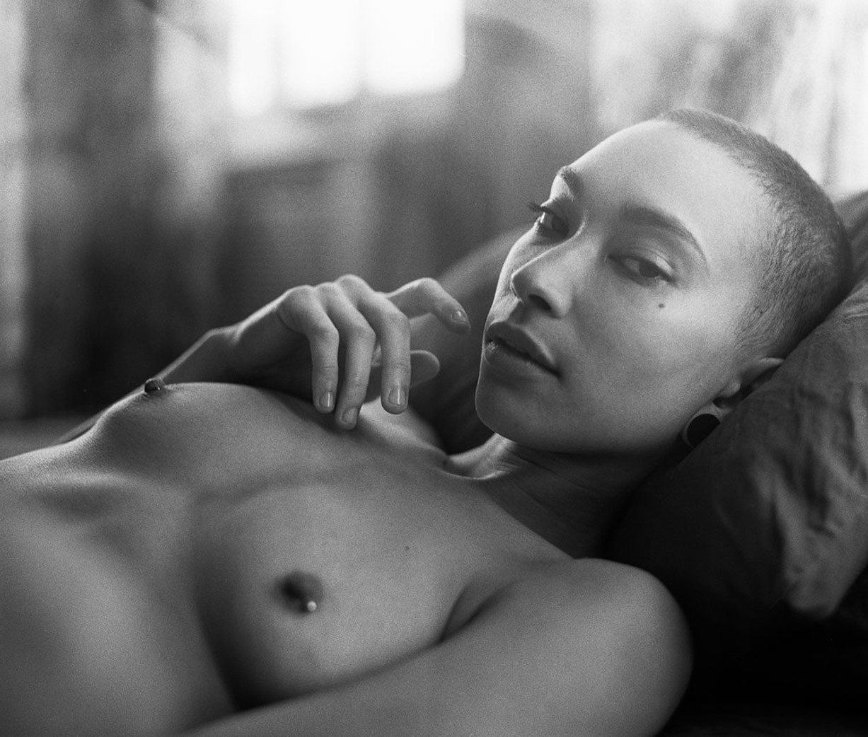 Nyasha by Ramon Jamar as Common Nudes for Rekt Magazine